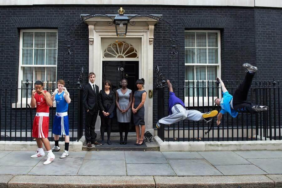 Foto der Downing Street 10